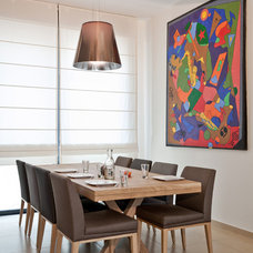 Contemporary Dining Room by SK Designers - Shimrit Kaufman
