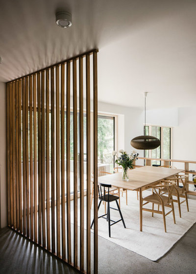 Scandinavian Dining Room by Fredric Boukari Photography