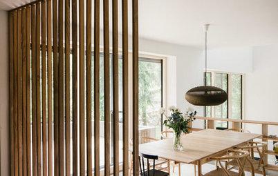 Tilbagevendende trend: Moderne indretning med træ
