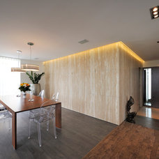 Contemporary Dining Room by KYZLINK