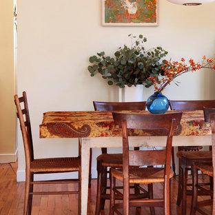 Idee per una sala da pranzo boho chic