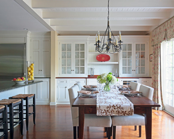 Traditional Dining Room by Susan Fisher Photography