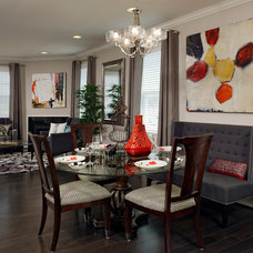Traditional Dining Room by Van Metre Homes