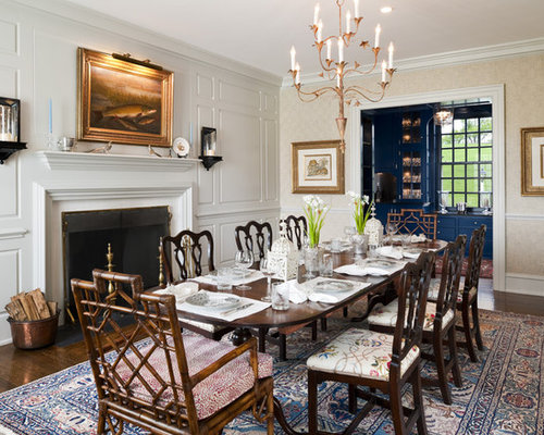 Tuscan Style Dining Room | Houzz