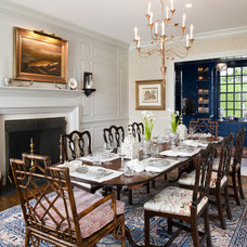 Farmhouse Dining Room by Archer & Buchanan Architecture, Ltd.