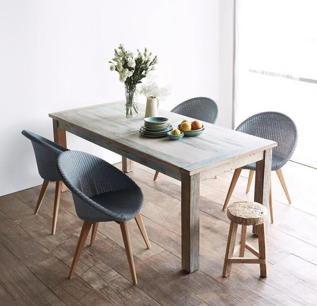 Contemporary Dining Room by Classic with a Twist