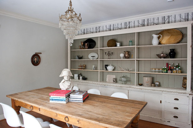 British Colonial Dining Room by Emily McCall