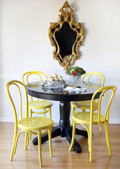 Eclectic Dining Room By Dayka Robinson Designs