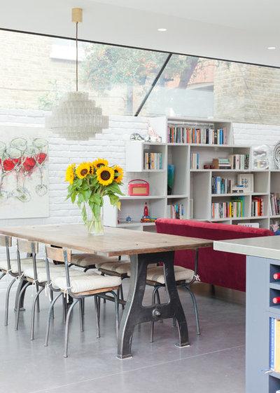 Contemporary Dining Room by Brooke Copp-Barton   Home Interior Design