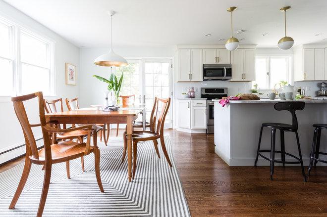 Modern Dining Room by Larina Kase Interior Design