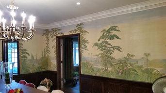 Vintage Mural Restoration