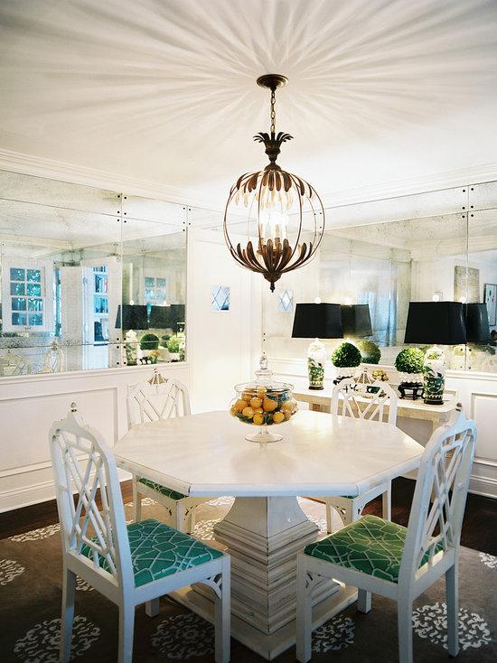 decorative dining room mirrors   houzz