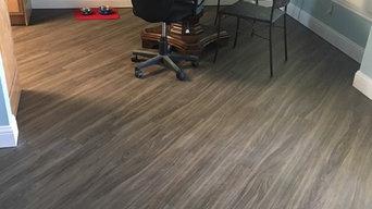 Vinyl Flooring- Diagonal