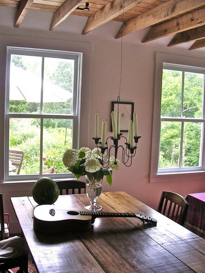 modern dining room Virginia Countryside Cottage