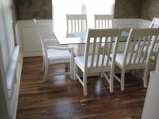 Traditional Dining Room by Lumber Liquidators