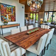 Modern Dining Room by Jill Wolff Interior Design