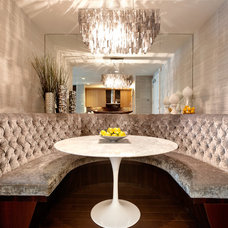 Contemporary Dining Room by Lo Chen Design