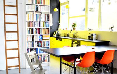 Suivez le Guide : Un appartement aux touches rétro et colorées
