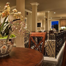 Mediterranean Dining Room by Lakeville Homes