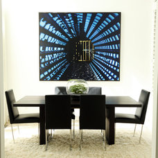 Modern Dining Room by andrea mclean design office