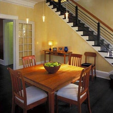 Craftsman Dining Room by W Daniel Anderson Design
