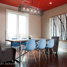 Modern Dining Room by Hall Developments