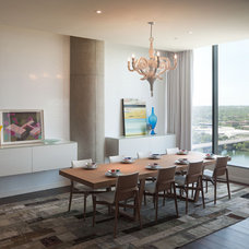 Modern Dining Room by Urbanspace Interiors