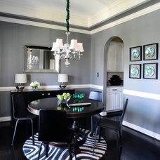 Contemporary Dining Room by JTWdesign LLC