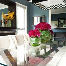 Contemporary Dining Room by AS you see it!