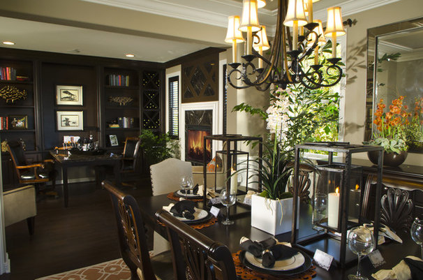 Traditional Dining Room by Possibilities for Design Inc.