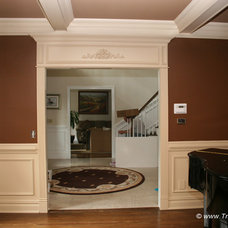 Traditional Dining Room by Trim Team NJ