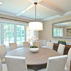 Contemporary Dining Room by EB Designs