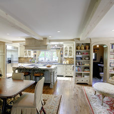 Traditional Dining Room by LS3P | Neal Prince Studio