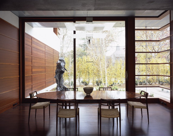 Modern Dining Room by Ehrlich Architects