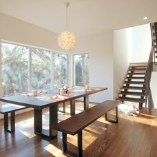 Contemporary Dining Room by Intexure Architects