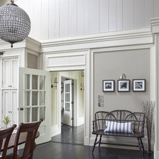 Traditional Dining Room by Wall Morris Design