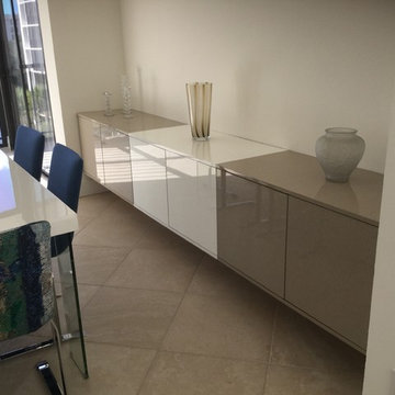 Wall Unit & Floating Cabinet