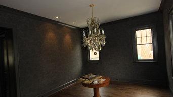 Wallpaper hanging