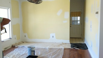 Wallpaper removal and painting