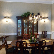 Traditional Dining Room by Decorative Wall Designs