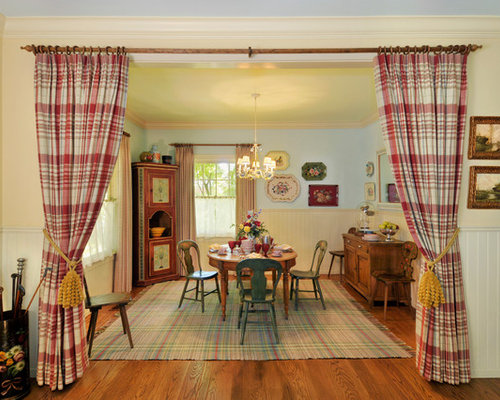 Inspiration For A Farmhouse Dining Room Remodel In San Francisco With Yellow Walls