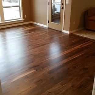 Walnut Hardwood Floor Refinish