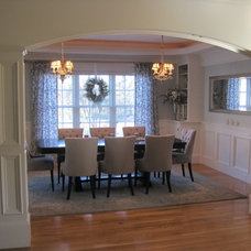 Traditional Dining Room by Brickstone Development