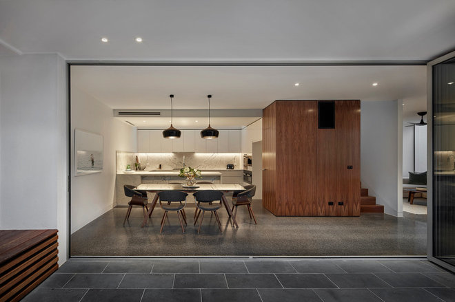 Contemporary Dining Room by Melbourne Design Studios (MDS)
