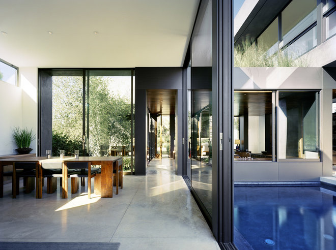 Contemporary Dining Room by World Architecture News (WAN)
