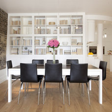contemporary dining room by Increation