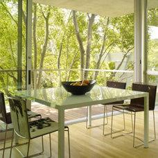 Modern Dining Room by Marmol Radziner