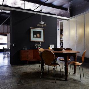 Idee per una sala da pranzo design di medie dimensioni