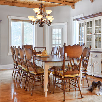 Warm Country Dining Room
