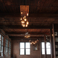 Industrial Dining Room by Urban Chandy